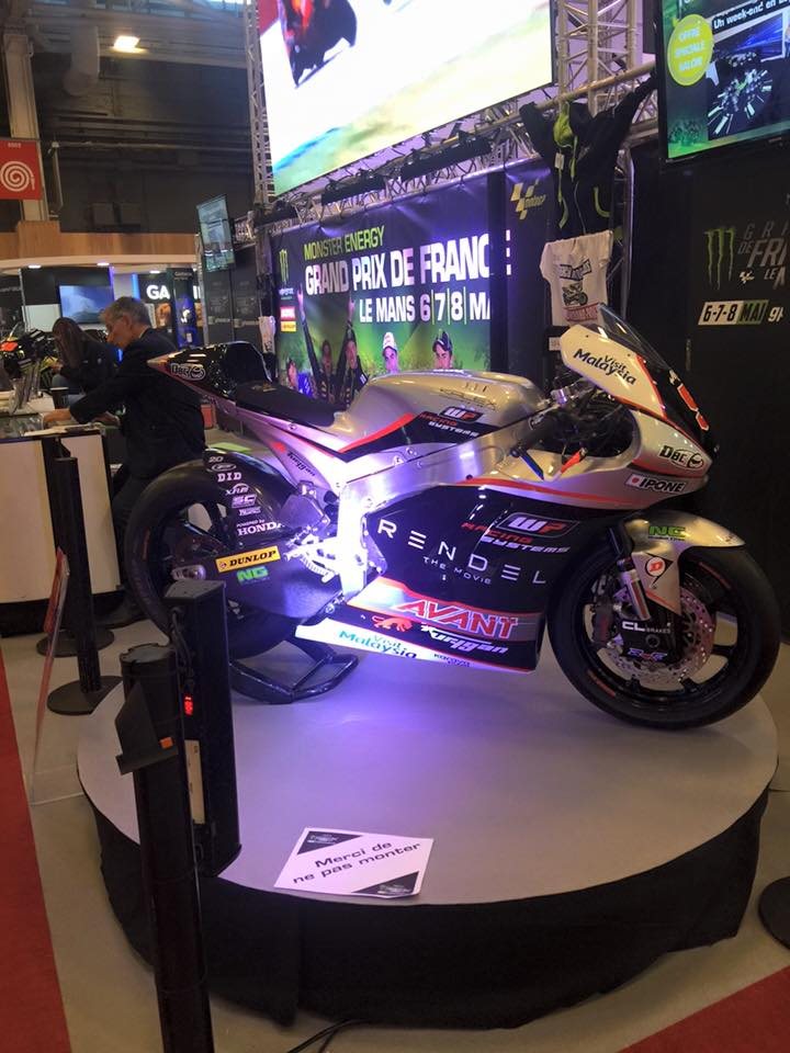 Salon de la moto paris 2015 porte de versailles for Salon porte de versailles hall 6