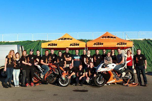 Stage avec la concession Squal KTM Rambouillet 2015